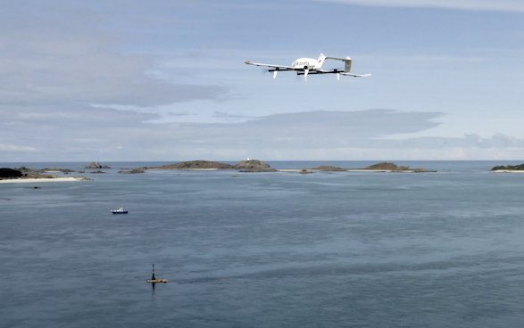 Skyports and Royal Mail pioneer drone deliveries to the Isles of Scilly