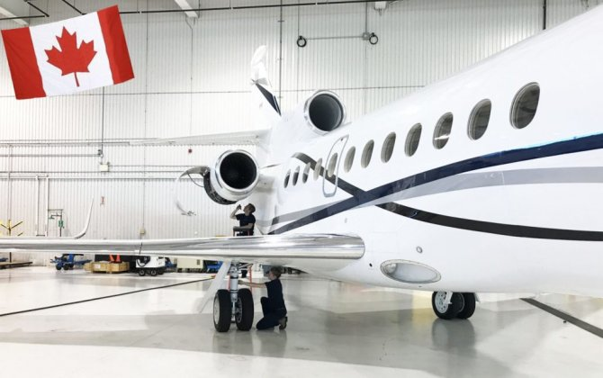Skyservice Toronto to Become Falcon Authorized Service Center