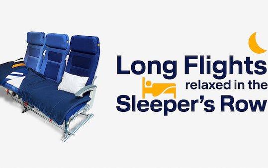 Sleep well on board of Lufthansa flights to São Paulo, Los Angeles and Singapore