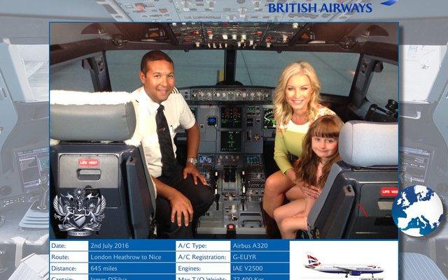 SN-APPY LANDINGS WITH NEW BRITISH AIRWAYS PILOT PHOTO APP