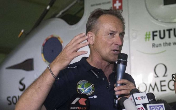 Solar Impulse aims to give hope in turbulent time