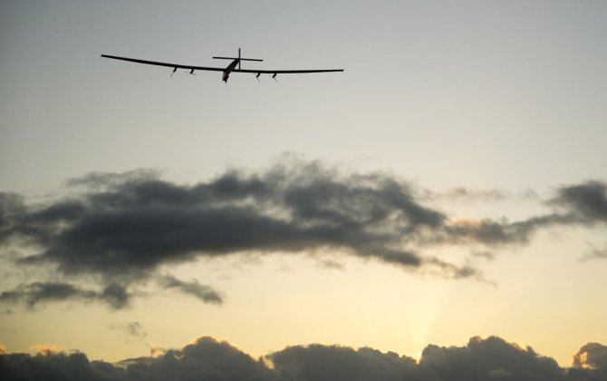 Solar plane successfully departs from Hawaii with no fuel