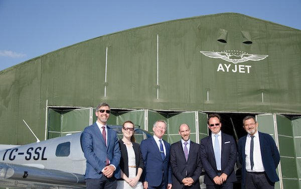 Sonaca 200 delivered to AYJET, order for 12 additional aircraft