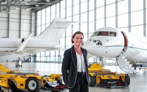 Sophie Mabire - leading Geneva Airpark to meet expectations of business aviation