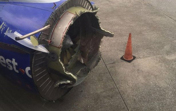 Southwest Plane Engine Explodes Mid-Flight