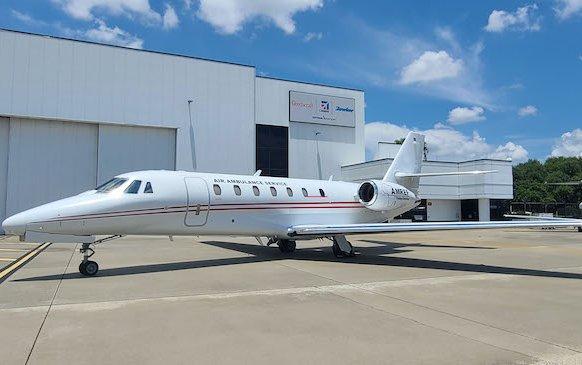 Special mission Cessna Citation Sovereign joined AMREF Flying Doctors fleet