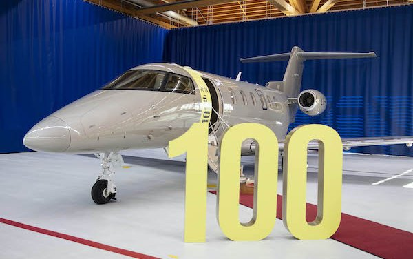 Spectacular takeoff - since 2018 the 100th PC-24 delivered