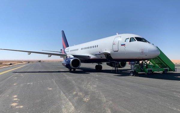 SSJ100 Debuts in Saudi Arabia
