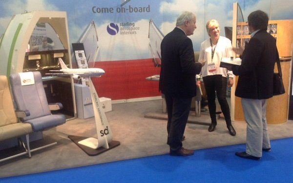 Starling Aerospace Interiors takes its new innovation to EBACE 2016