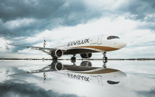 STARLUX Airlines first flight landing in Ho Chi Minh City