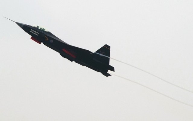 Stealth fighter jet test is China's latest military aircraft endeavour