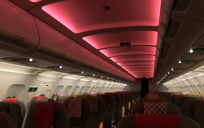 STG Aerospace wins order from Volotea for 45 full-colour liTeMood® LED cabin lighting systems