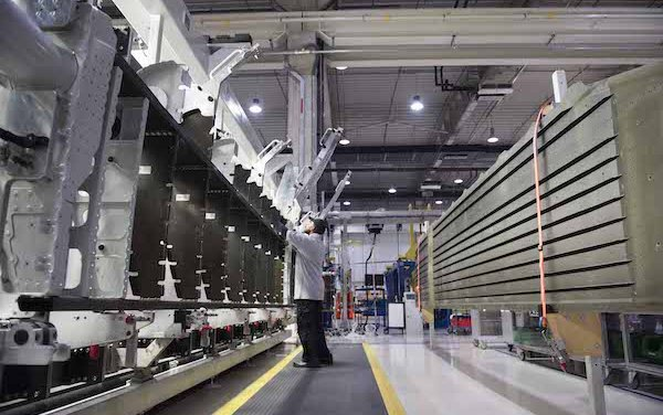 Strata delivers 100 shipsets of A350-900 inboard flaps for Airbus