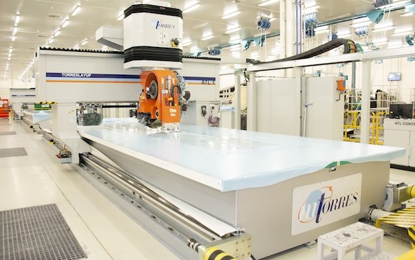 Strata successfully implements automated manufacturing for Airbus A350 inboard flap production line