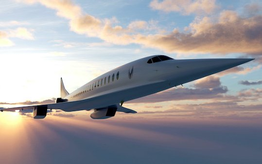 Strategic American Express Ventures investment in Boom Supersonic