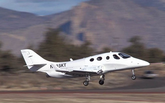 Stratos 714 VLJ completes inaugural flight