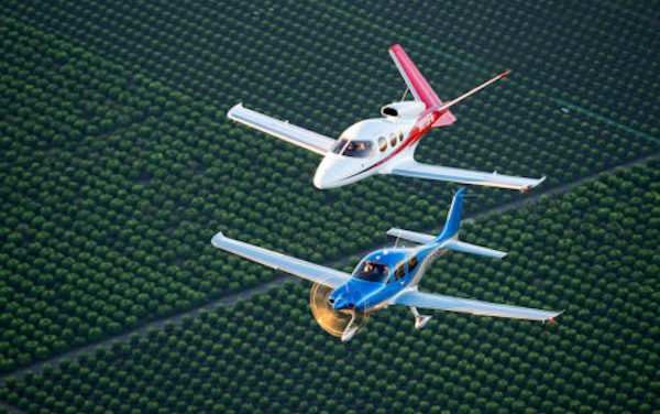 Strongest Deliveries in a Decade, Highlighted by Vision Jet Growth reported by Cirrus Aircraft