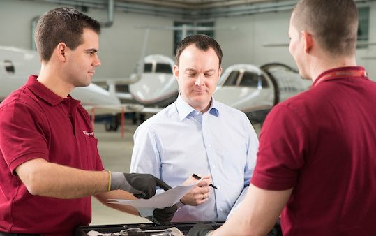 Successful 48-month check on a Challenger 605 - DC Aviation Group