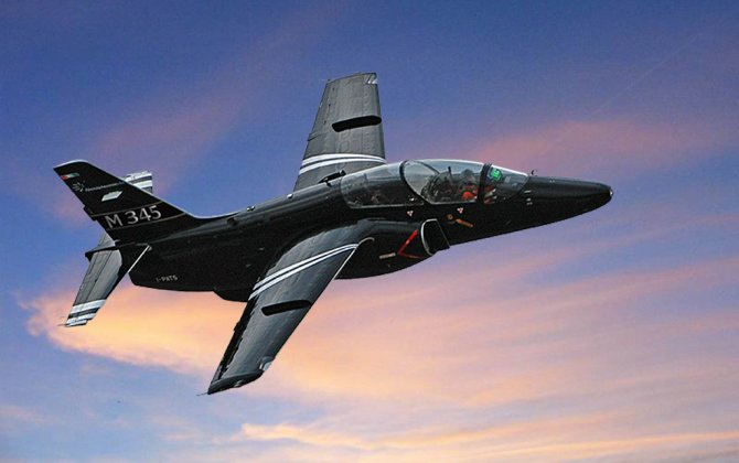Successful first flight for the New Aermacchi M-345