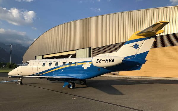 Successful Maiden Flight of Swedish Medevac PC-24 completed
