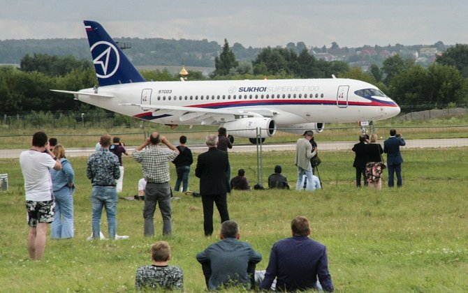 Sukhoi Civil Aircraft Company is considering to make components and spare parts for SSJ-100 aircraft in Italy