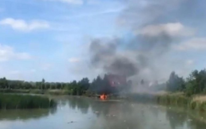 Swiss F-5 fighter jet crashes in the Netherlands