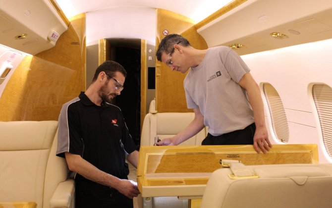 TAG Aviation Farnborough Maintenance Services Expands its Business Aircraft Interiors Offering