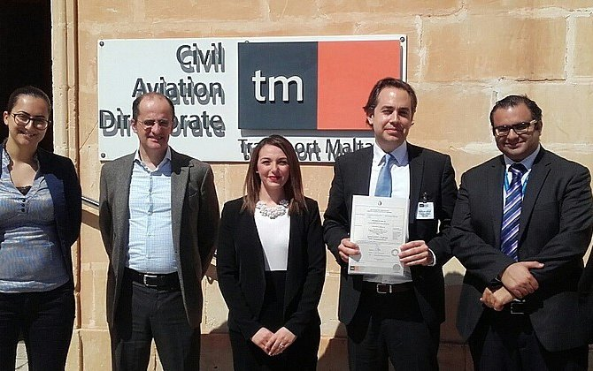 TAG Aviation has been granted a Maltese AOC