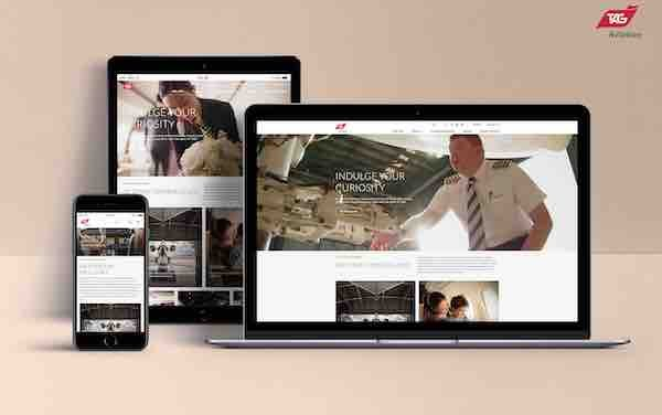 TAG Aviation unveils new corporate website, updated branding system