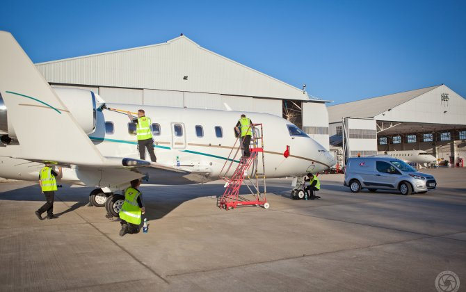 TAG Aviation's Farnborough Maintenance Services Now Offers Ramp Aircraft Cleaning and Detailing Services