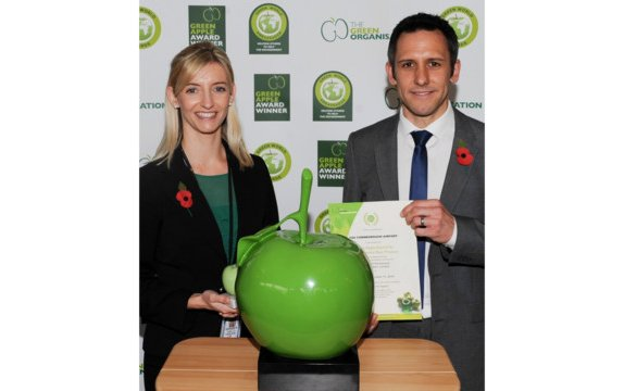 TAG Farnborough Airport achieves Silver Green Apple Environment Award