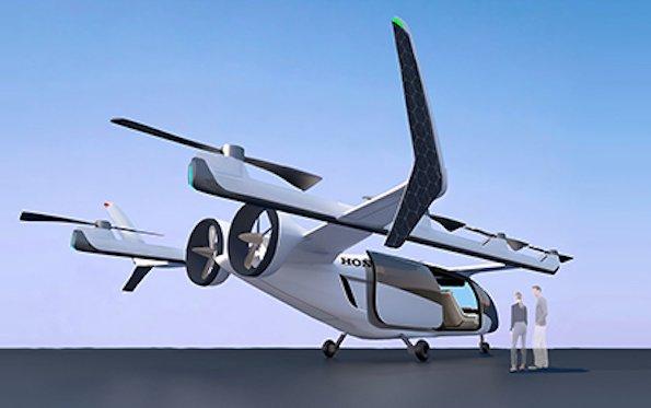 Taking challenges - Honda hybrid eVTOL aircraft