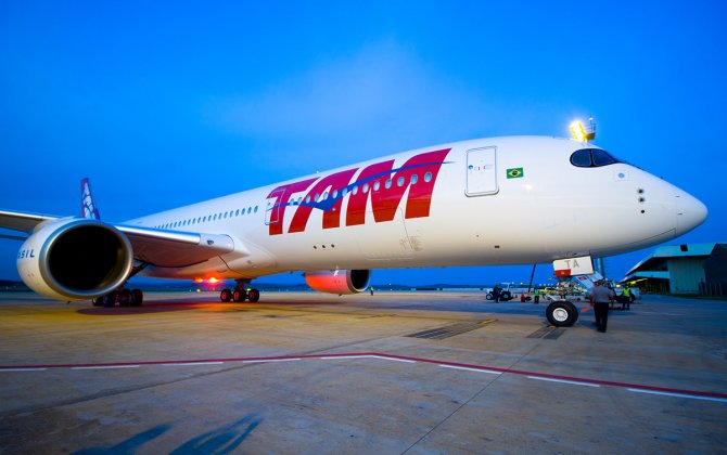 TAM operates first A350 international flight