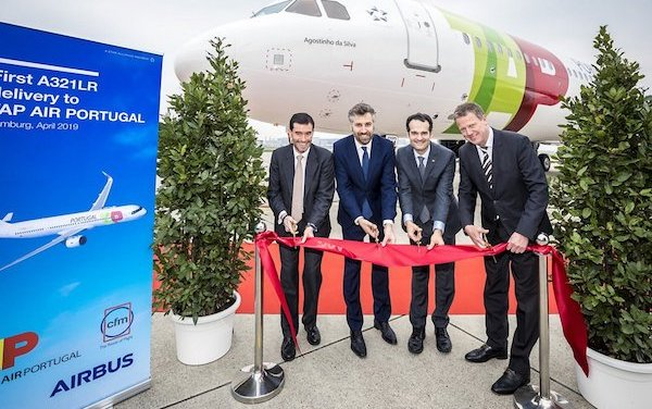 TAP Air Portugal first A321LR is delivered