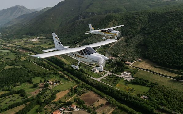 TECNAM P92 Echo MkII - back to the future with EU 600kg category