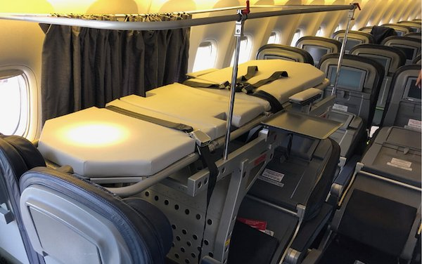Temporary passenger aircraft cabin modifications by Magnetic MRO