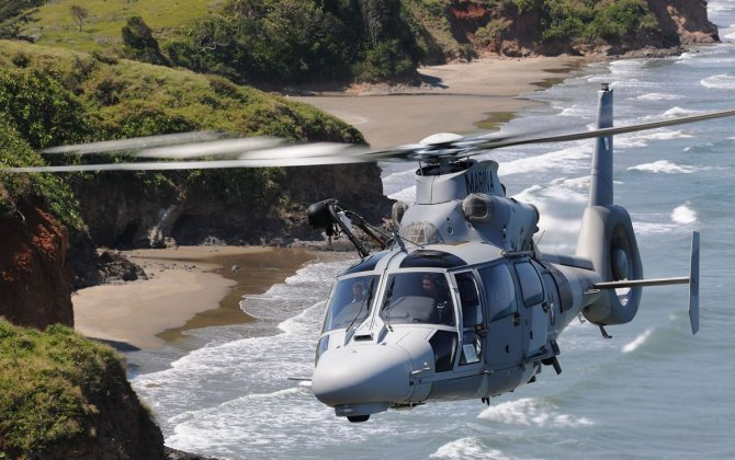 Ten AS565 MBe Panther helicopters in service in Mexico
