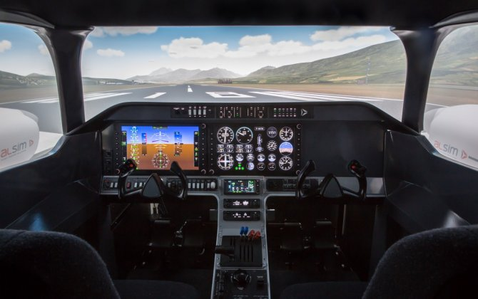 Test FLY ALSIM'S AL250 Simulator at the Singapore Airshow