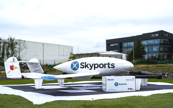 Testing last-mile drone delivery of goods between Shannon Airport to Foynes Port begins