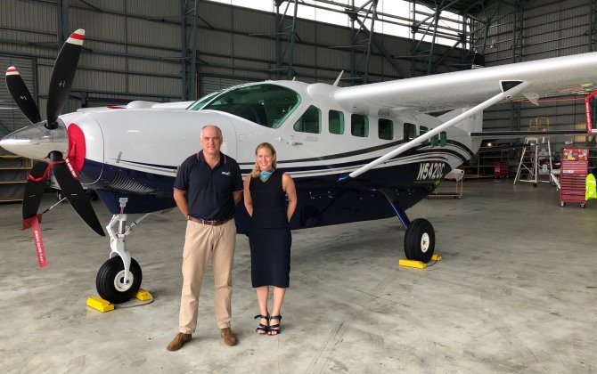 Textron Aviation and Mission Aviation Fellowship International announce firm order for five Cessna Caravans, creating exclusively Caravan MAF Papua New Guinea fleet