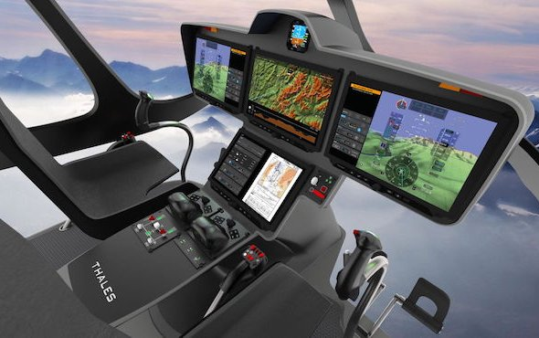Thales's new FlytX avionics suite for latest-generation helicopter programmes