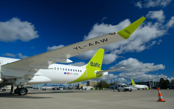 The 23rd Airbus A220-300 of airBaltic received