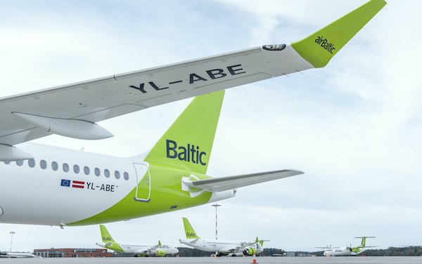 The 31st Airbus A220-300 reached home of airBaltic