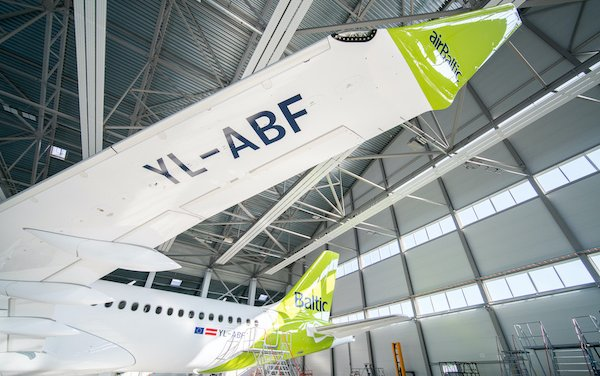 The 32th is home - airBaltic received its Airbus A220-300