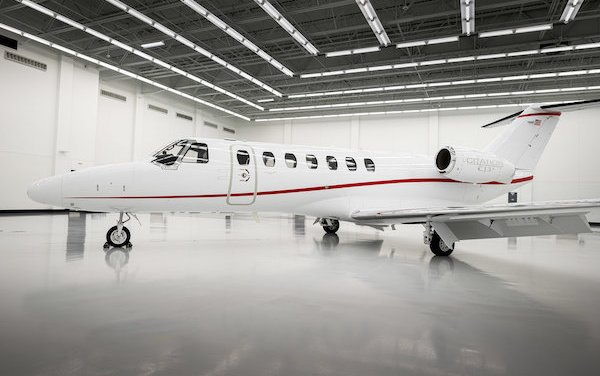 The 600th delivery of Cessna Citation CJ3 family aircraft