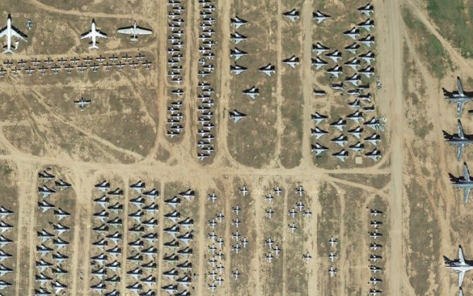 The Arizona Boneyard Where Old Warplanes Go To Die