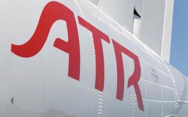 The ATR 72-600 arrives in Japan