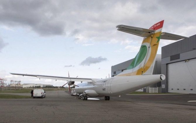 The ATR 72-600 tours West Africa