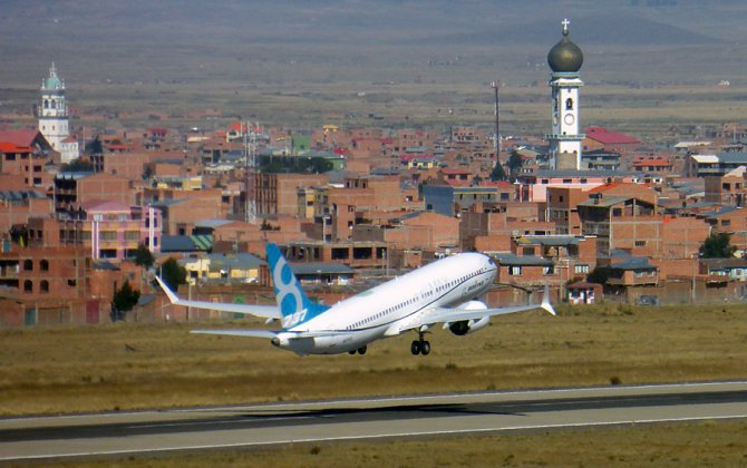 The Boeing 737 MAX 8 Completes High Altitude Flight Testing in Bolivia