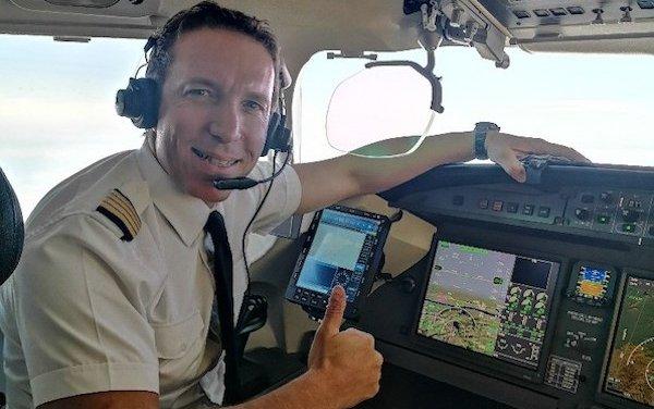 The Captain of Flight Level 470 - meet Ben Rosinger